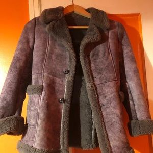 "KIDS CARAVELLE ""AUTHENTIC SHEARLING COAT"""